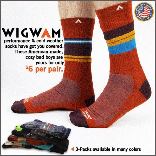 best deal wig wam sock