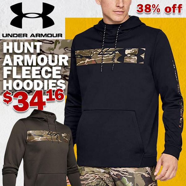 under armour camo hoodie sale