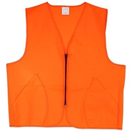 blaze orange deer hunting vest bird