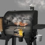 what is the slide and grill feature on camp chef grill