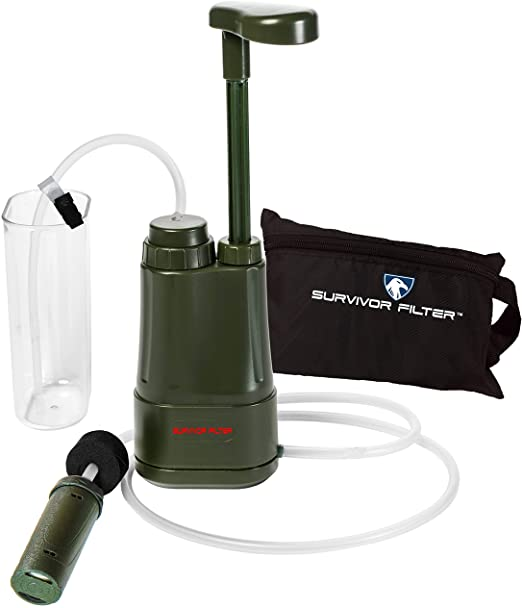 best portable water filter for large quantities