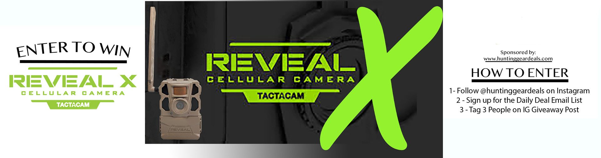 where to find a tactacam reveal x