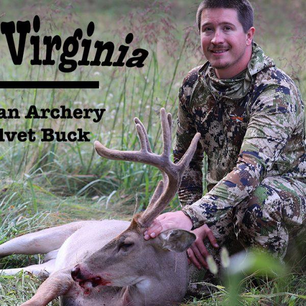 can you hunt velvet bucks in West Virgina